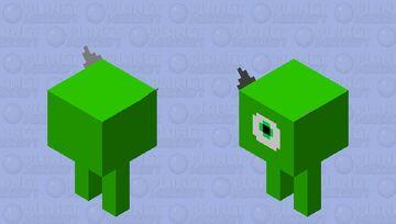 Mike Wazowski Minecraft Mob Skin