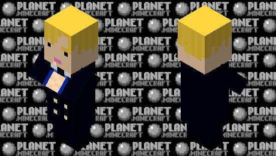 One Piece - Sanji Minecraft Skin