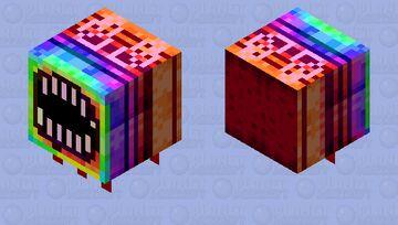 Rainbow eater Minecraft Mob Skin