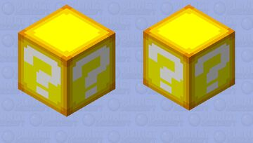 Mario ? Block - Mob Skintober 2020 - Day 17 Minecraft Mob Skin