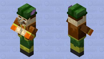 Morshu Minecraft Mob Skin