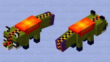 Magma stone fox Minecraft Mob Skin