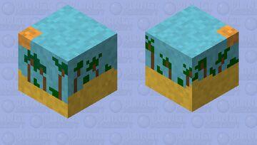 Sandy Palms Minecraft Mob Skin