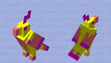 Wings of fire kinkajou as parrot Minecraft Mob Skin