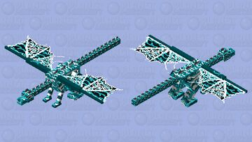 Seafoam Skies Minecraft Mob Skin