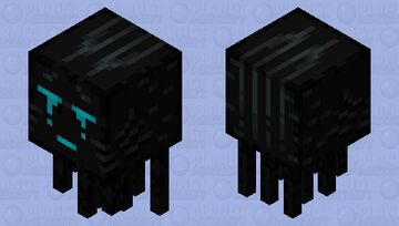 Basalt Delta Ghast (Nether Nightmares Submission) Minecraft Mob Skin
