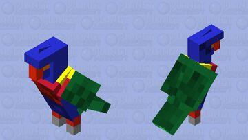 Aussie rainbow Lorikeet (updated) Minecraft Mob Skin