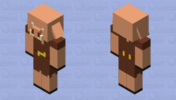 piglin from the 1.16 trailer Minecraft Mob Skin