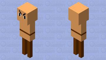 evil dummy (undertale) Minecraft Mob Skin