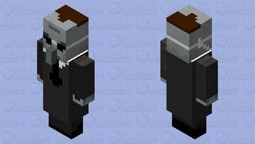 Agent Smith from Matrix Minecraft Mob Skin
