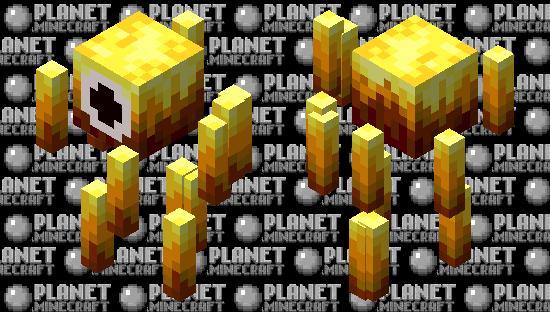 Cyclops Blaze Minecraft Skin