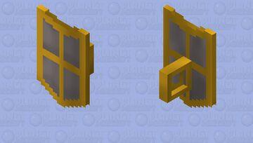 Steel Kiteshield (g) | OSRS Minecraft Mob Skin