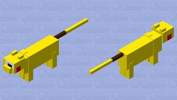 pikachu Minecraft Mob Skin