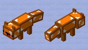 skeppy fox Minecraft Mob Skin