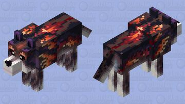 Wolf2 (gift skin for Clearshadow2020) Minecraft Mob Skin