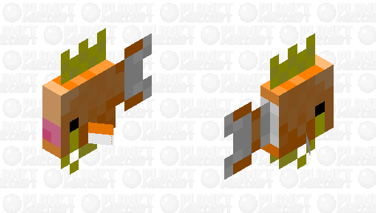 Magikarp Minecraft Skin
