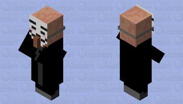Hacker Villager Minecraft Mob Skin