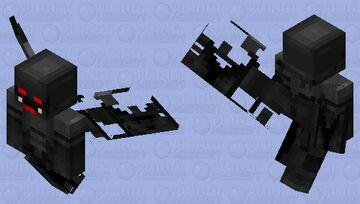 Crumbling Stone Gargoyle Minecraft Mob Skin