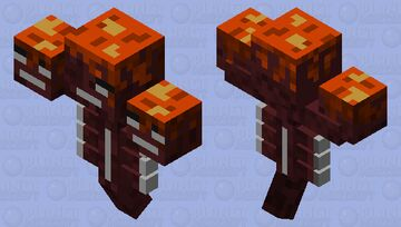 Volcanic wither Minecraft Mob Skin