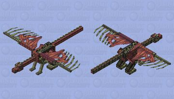zombie dragon Minecraft Mob Skin