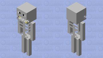 PMC Texture Pack Skeleton Minecraft Mob Skin