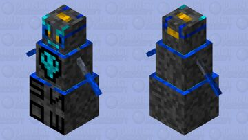 assassin S.N.O.W. golem Minecraft Mob Skin