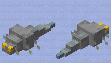 Silverfish Minecraft Mob Skin