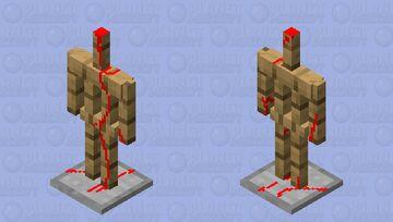 Evil armor stand Minecraft Mob Skin