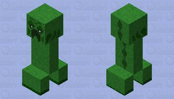 creeper moss ( eighth stage)(ver.8) Minecraft Mob Skin