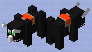 Bandidos Skins: Angry Rhino Minecraft Mob Skin