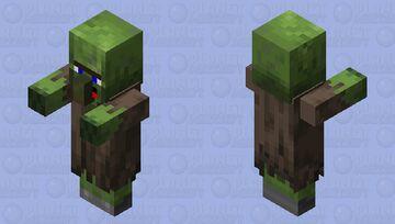 Derp zombie villager 1 Minecraft Mob Skin