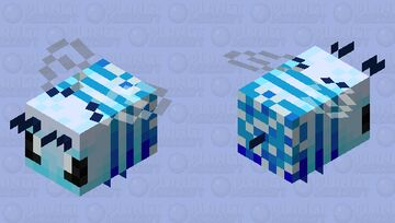 Pollinated Bee - Chill Bee Minecraft Mob Skin