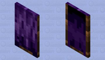 Regal Purple Cape (Unofficial Community Cape Contest) Minecraft Mob Skin