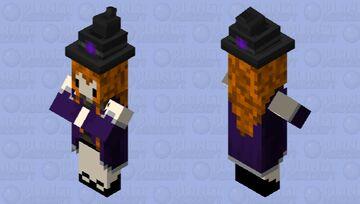 cute witch Minecraft Mob Skin
