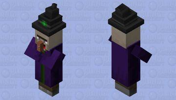 Derp witch 1 Minecraft Mob Skin