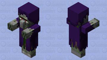 Zombie Witch Minecraft Mob Skin