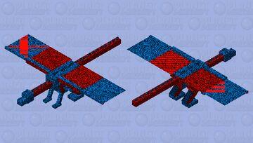 Crazy dragon Minecraft Mob Skin