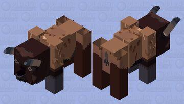 Bison Minecraft Mob Skin