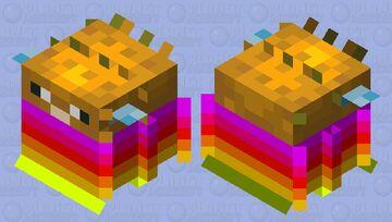 Pufferfish's celebration sweater Minecraft Mob Skin