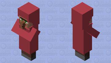pink clothed villager Minecraft Mob Skin