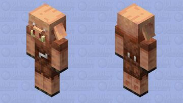 When Piglins find Iron in the Nether... Minecraft Mob Skin