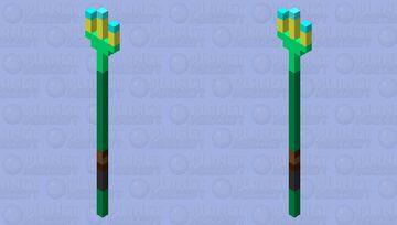 magic trident Minecraft Mob Skin