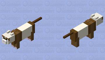 A Ferret Friend! Minecraft Mob Skin