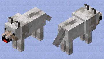 Just a cute wolf :) Minecraft Mob Skin