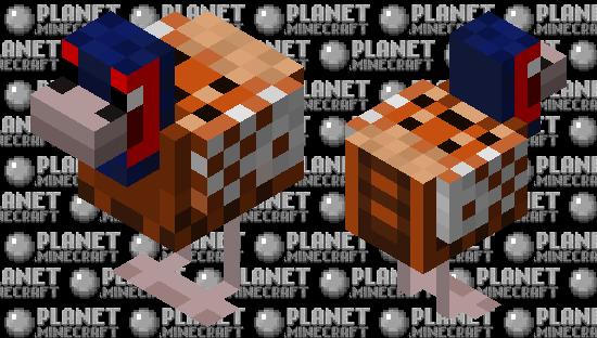 Male Ring-Necked Pheasant Minecraft Skin