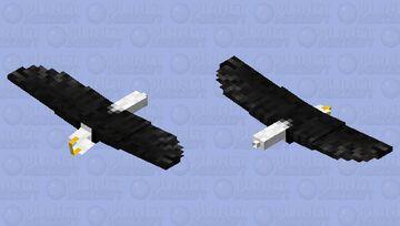 White Head Eagle Minecraft Mob Skin