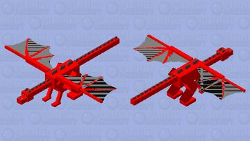 a real fake dragon XD Minecraft Mob Skin