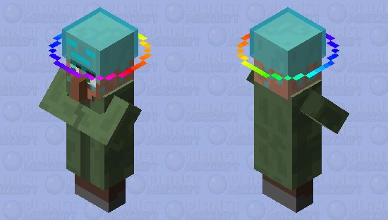 Popular Mob Skin : The villagers like to live with this creature