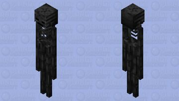 Witherman Minecraft Mob Skin