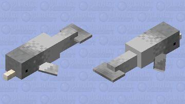 Narwhal Minecraft Mob Skin